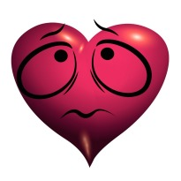 worried heart